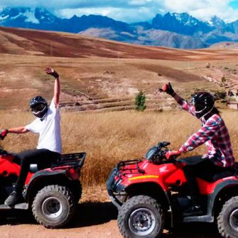 Tour in Cuatrimotos Moray and the Maras Salt Mines – Atv – Quad Bikes